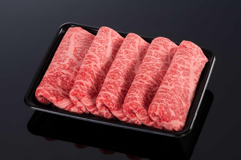 【上品な風味】松阪牛ロースすき焼き用【霜降り】