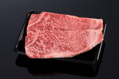 (冷凍)【霜降りが美しい】松阪牛ロースステーキ用(2枚)【1枚約200g】