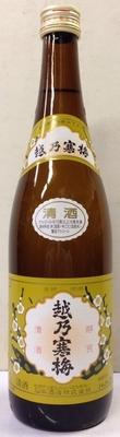越乃寒梅 白ラベル 普通酒 1800ml