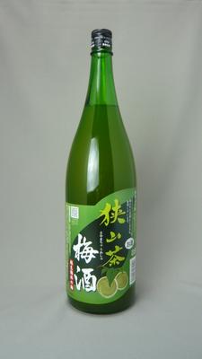 狭山茶梅酒 1800ml