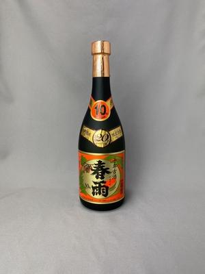 春雨 10年瓶貯蔵10年古酒 30度 720ml