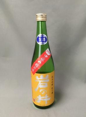 岩の井 純米吟醸 総の舞 無濾過生原酒 720ml