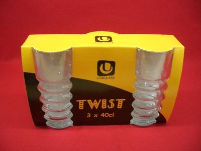 グラスタンブラー TWIST (3個セット)