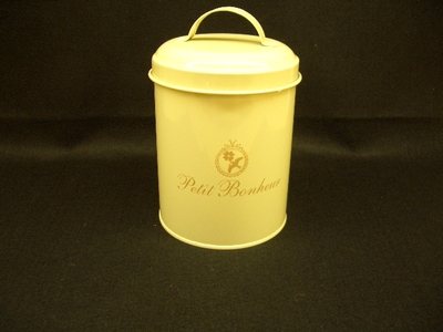 Petit Bonheur キャニスター缶
