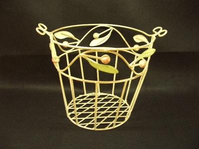 アイアン製 バスケット