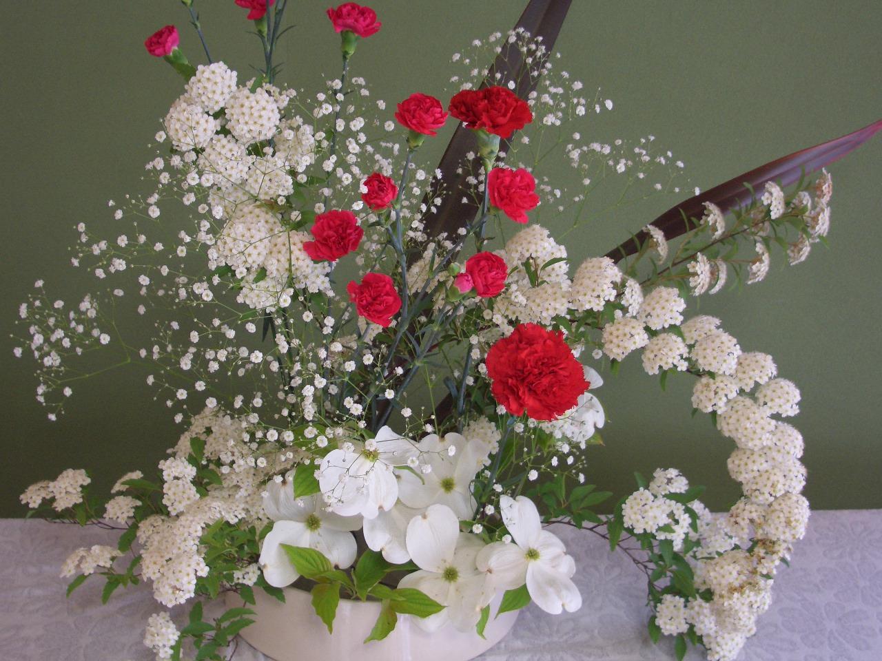 暖家の蔵 店長 の 生け花