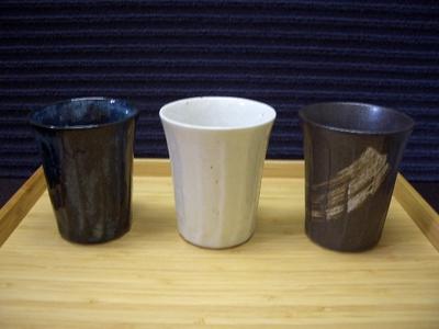 和-なごみ けずり型長湯呑み (3種)