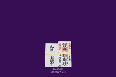 [2021年]【元旦修行】お護摩懐中札 ご祈祷料一万円