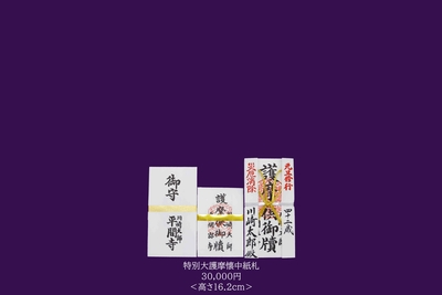 [2021年]【元旦修行】特別大護摩懐中札 ご祈祷料三万円