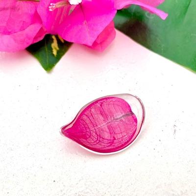 ブーゲンビレアの花びらお箸置き(濃いピンク)