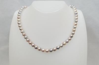 真珠(ナチュラルグレー)7㎜