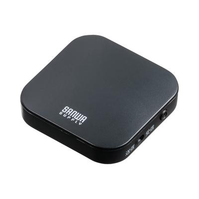 サンワサプライ MM-BTAD5 切り替えスイッチで受信機にも送信機にもなるBluetoothオーディオトランスミッター&レシーバー 当社エリア内配送料無料
