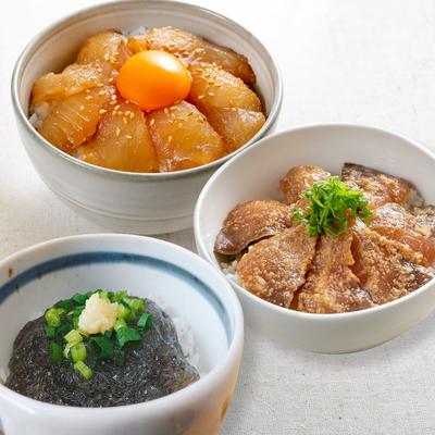 石山水産の漬け丼の具[5種]セット