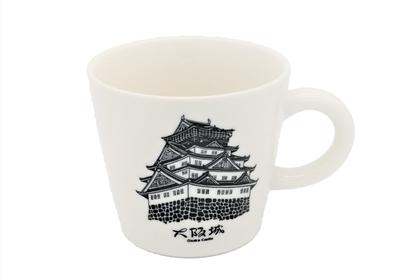 大阪城マグカップ