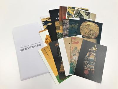 大阪城オリジナル絵葉書(16枚セット)