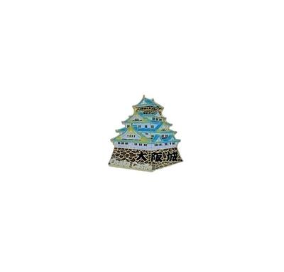 大阪城ピンバッジ(城)