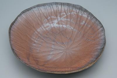 小西 陶蔵 作 蓮皿(はすざら)