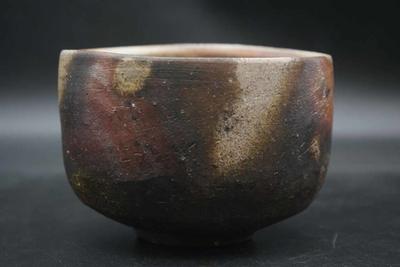 柴岡 信義 作 備前 茶碗