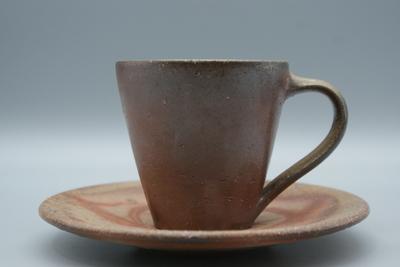 石田 和也 作 備前 コーヒーC/Sセット