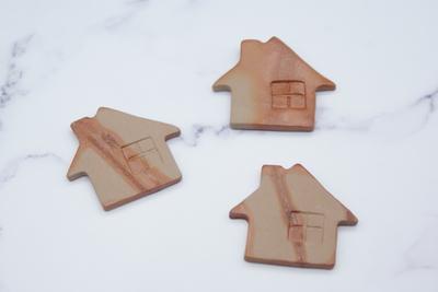 陶備堂工房 家型箸置き(一個)