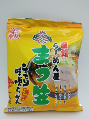 函館まつ笠 こってり味噌ラーメン