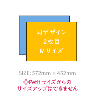 【2枚目割引(Mサイズ)】