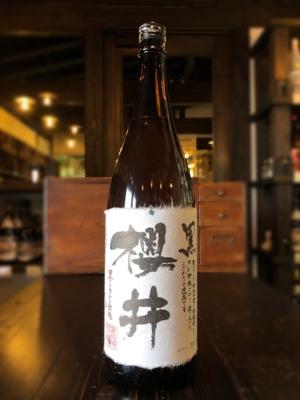 黒櫻井 芋焼酎 1800ml