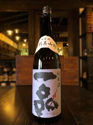 一品 特別美山錦 純米酒 1800ml