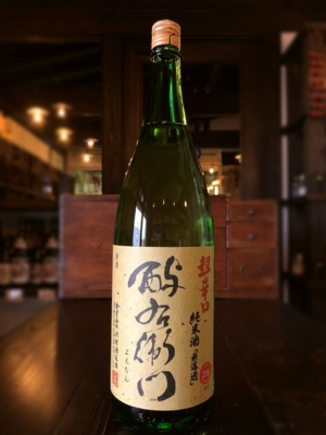 酉与右衛門 超辛口純米酒 阿波山田錦 1800ml