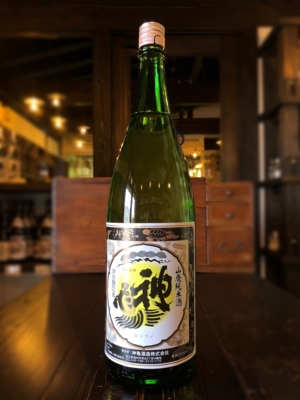 神亀 山廃BLACK 熟成純米酒 1800ml