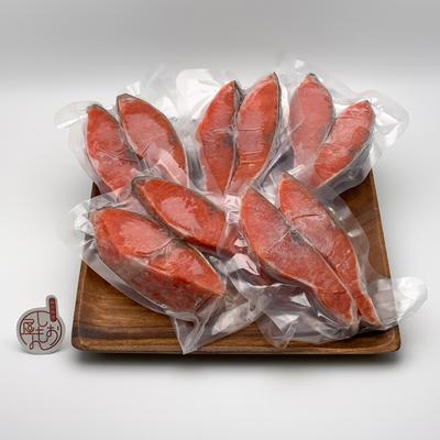 甘塩紅鮭 10切