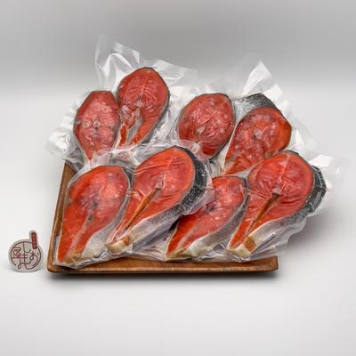 昔ながらの製法 熟成紅鮭セット 8切