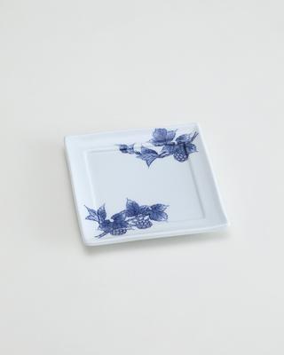 木苺 角皿[きいちご かくざら]