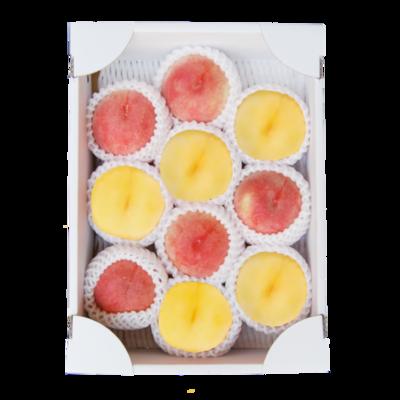 山形の桃 白桃・黄桃3kg セット