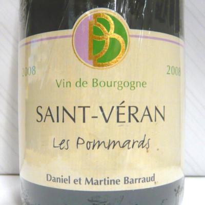 サン・ヴェラン レ・ポマール 2008 ダニエル・バロー
