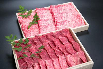 大福牛 肩ローススライス しゃぶしゃぶ用300g大福牛並カルビ焼肉 400g