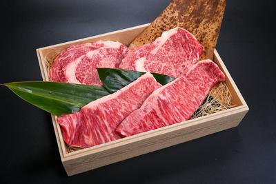 大福牛 サーロインステーキ用 200g*2枚   大福牛リブロースステーキ用 200g*2枚