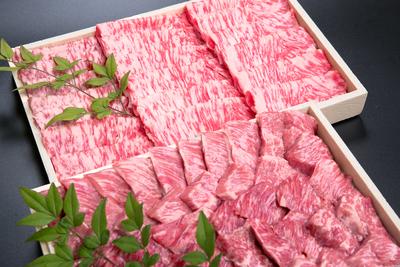 大福牛 赤身うでスライス しゃぶしゃぶ用300g大福牛 上カルビ焼肉 400g