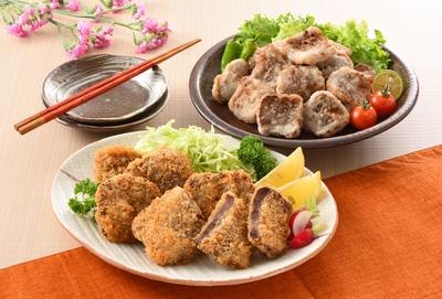 (7)鯨詰合せA 学校給食セット(下関港水揚 鯨)