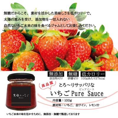 【送料込み】いちごPure Sauce(ピュアソース) 100g