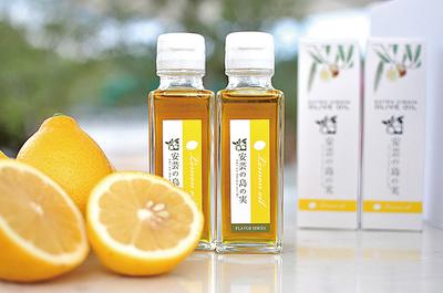 オリーブオイル江田島搾り&レモンオイルセット