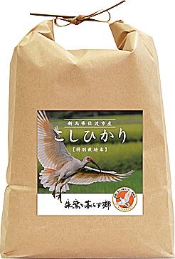 新潟県佐渡島産コシヒカリ