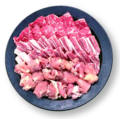 国産焼き肉セット1kg