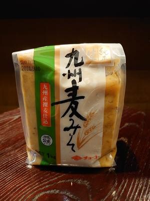 チョーコー醤油 九州麦みそ1Kg