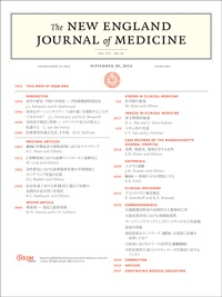 New England Journal of Medicine 年間購読**Massachusetts Medical Society**