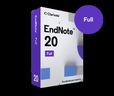 EndNote 20 パッケージ版(CD-ROM)**Clarivate Analytics**