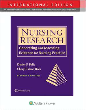 Nursing Research 11th Ed.**Wolters Kluwer/Denise F. Polit/9781975154141**