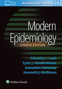 Modern Epidemiology 4th Ed.**WOLTERS KLUWER/Timothy L. Lash/9781451193282**