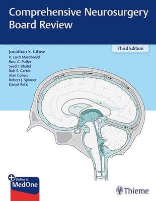 Comprehensive Neurosurgery Board Review**Thieme/Citow/9781626231023**
