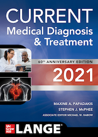 Current Medical Diagnosis & Treatment 2021**9781260469868/McGraw-Hil/Maxine A.P/978-1-260-46986-8**